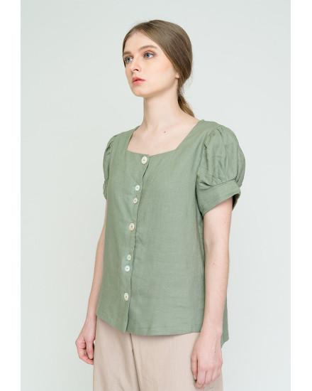 Gisella Top Green