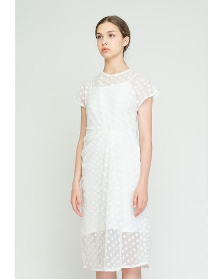 Leina Dress White