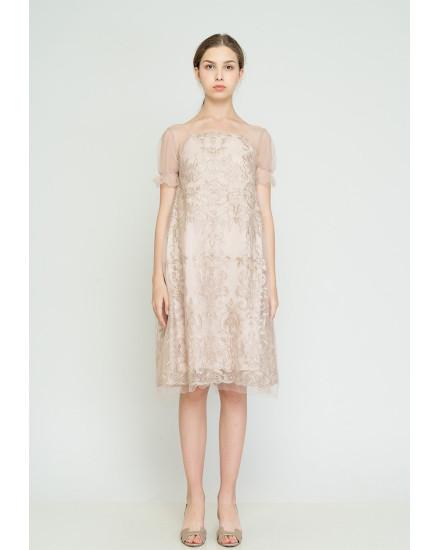 Catina Dress Cream