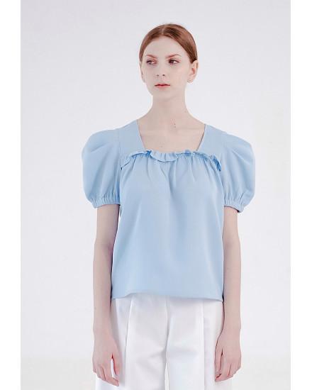 Rowena Top Blue