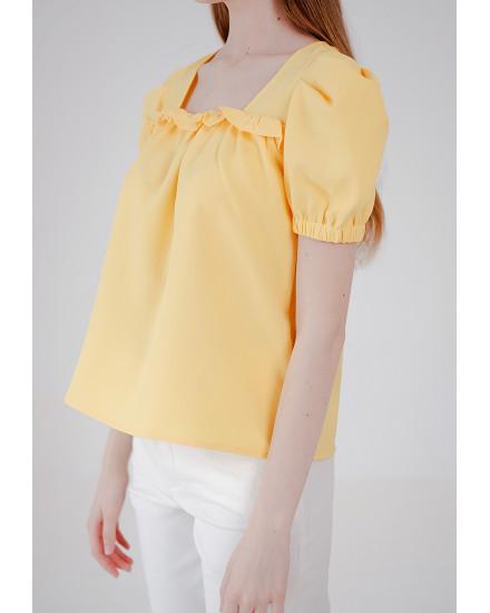 Rowena Top Yellow