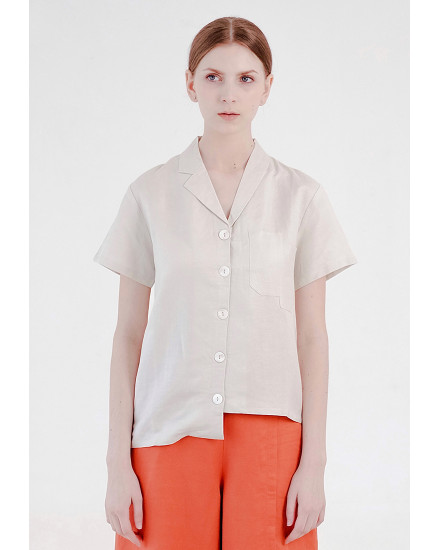 Elaine Shirt White