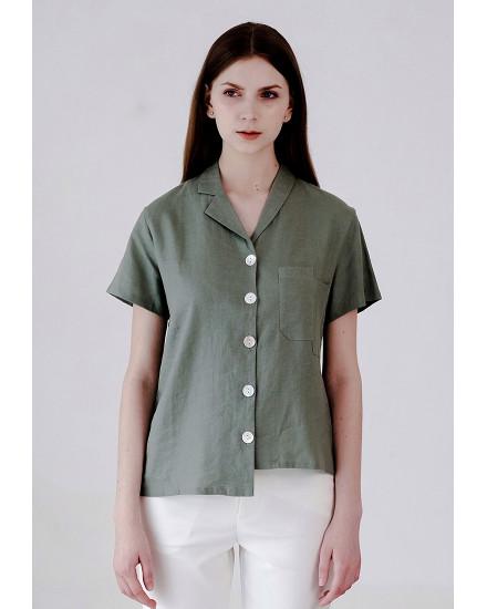 Elaine Shirt Green