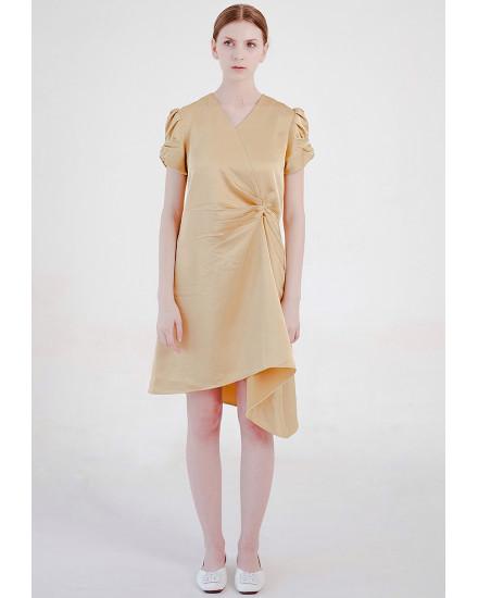 Anaya Dress Gold