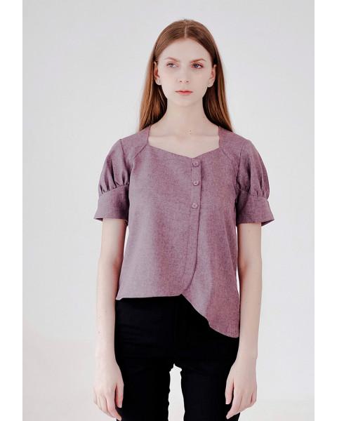 Renelle Top Purple