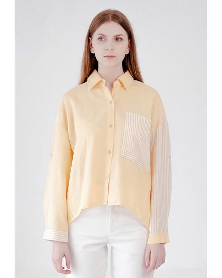 Aviella Top Yellow