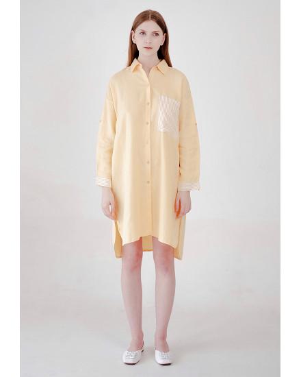 Aviella Dress Yellow